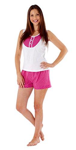 Selena Secrets - Pijama - para mujer Frambuesa