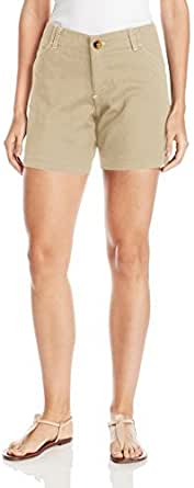 Lee Women's Midrise Fit Essential Chino Short