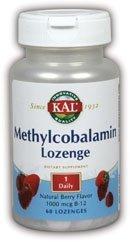 Kal 1000 Mcg B-12 Berry Methylcobalamin, 60 Count