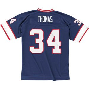 Buffalo Bills Mitchell & Ness 1990 Thurman Thomas #34 Replica Throwback Jersey (M)