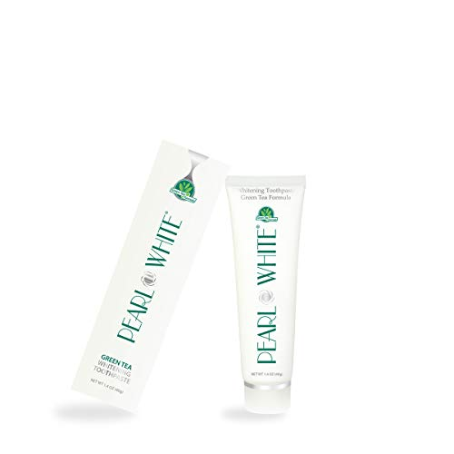 BEYOND Pearl White Whitening Toothpaste (Green Tea, Travel Size: 1.4 oz / 40 - White Pearl Green
