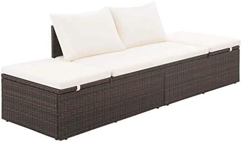 Outdoor Patio Sofa Rattan 3 Seat