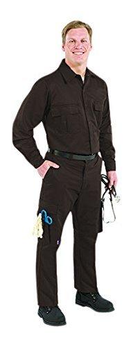 TOPPS SAFETY PP01-1855-29 PP01-1855 Men's Plain Front Glove Pocket Pants 29 Waist Size Brown [並行輸入品]  B07Q2XCPM6