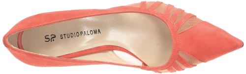STUDIO PALOMA - Zapatos de vestir de cuero para mujer Rojo