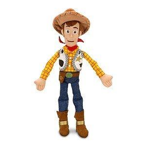 Disney Sheriff Woody Plush Toy -- 18'' H (Plush Talking Woody Toy Story)