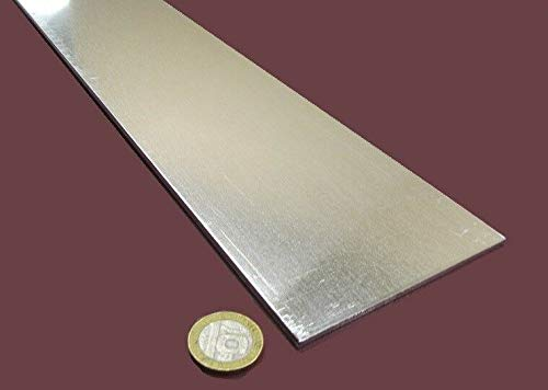 JumpingBolt 6061 T6 Aluminum Bar .125'' (1/8'') Thick x 4.0'' Wide x 48'' Length, 2 Pieces Material May Have Surface Scratches