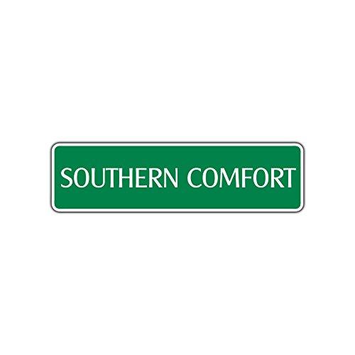Southern Comfort Aluminum Metal Novelty Street Sign Liquor Whiskey Wall Décor 4