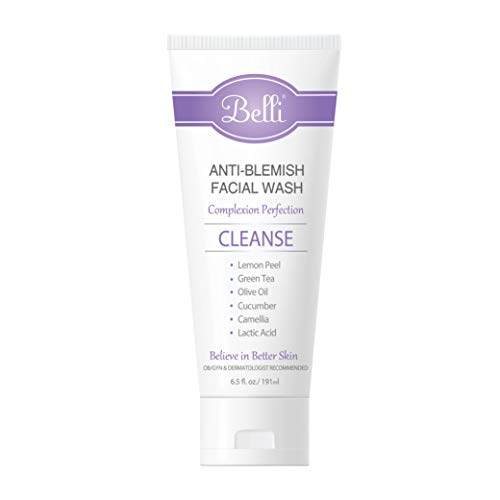 Belli Anti-Blemish Facial Wash – Cleanse Acne-Prone Skin – OB/GYN and Dermatologist Recommended – 6.5 oz. 2