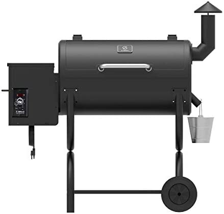 Z GRILLS 2019 Upgrade Model Wood Pellet Grill Smoker, 8 in 1 BBQ Grill Auto Temperature Control, 538 sq inch Cooking Capacity