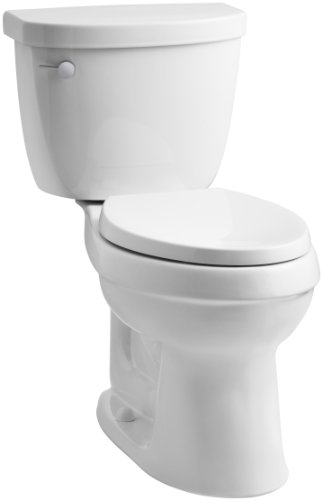 Piece Chair Height Elongated Toilet - 1