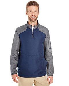 Holloway Sportswear Raider Pullover Windbreaker. 229155 Carbon Print / Navy L
