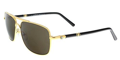 Sunglasses Montblanc MB 508S MB508S 30E shiny endura gold / - Sunglasses 6014
