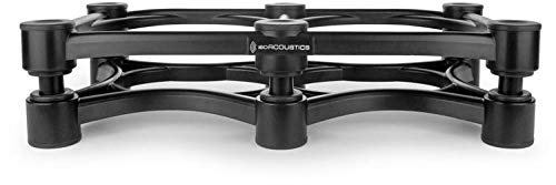 IsoAcoustics ISO-430 Isolation Stands for Studio Monitors, Guitar, Bass and Other Instrument Amplifiers (Best Studio Monitor Stands 2019)