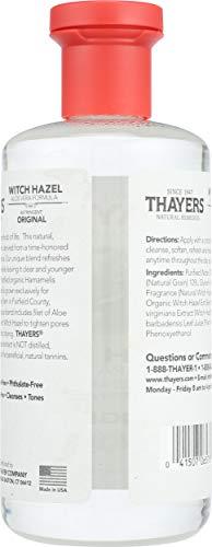 Thayers Witch Hazel with Aloe Vera, Original Astringent 12 oz