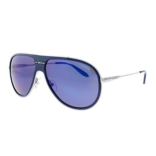 carrera-87-s-08et-xt-blue-blue-sky-mirror-aviator-sunglasses-bundle-2-items