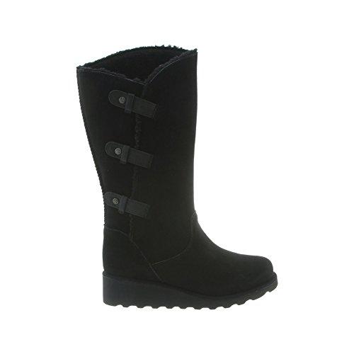 Pictures of BEARPAW Women's Hayden Boots Suede Rubber Wool 4