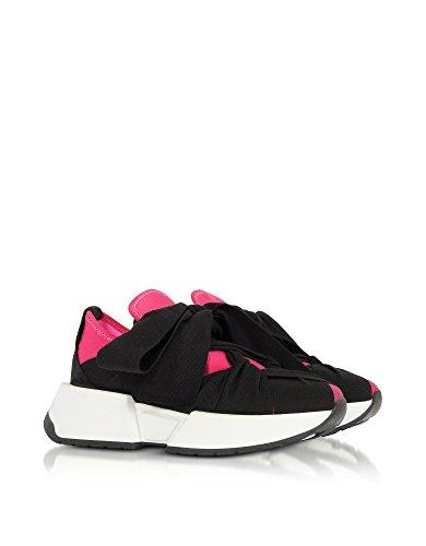 Mm6 Maison Margiela Vrouwen S59ws0033s48615964 Zwarte Polyamide Sneakers