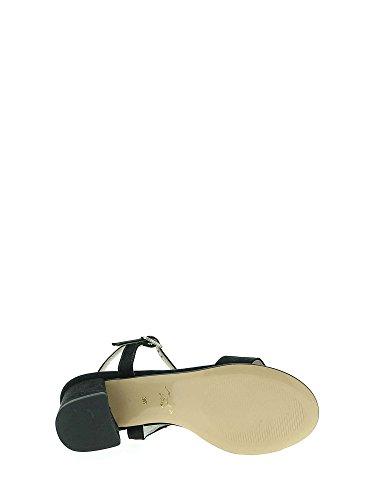 Donna Nero 41 Soft Tacco Sandalo Iab492442 Cinzia cp 0ngxWUww