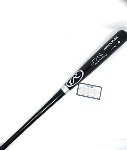 JD Martinez Boston Red Sox Signed Autograph Black Baseball Bat World Series INSCRIBED Steiner Sports Certified