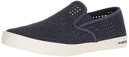 SeaVees Men's Men's Baja Slip On Portal Shoe, Marine, 16 M US
