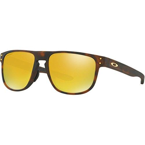 Oakley Men's Holbrook R (a) Non-Polarized Iridium Square Sunglasses, Matte Brown Tortoise, 55.0 - Oakley Brown Polarized Holbrook