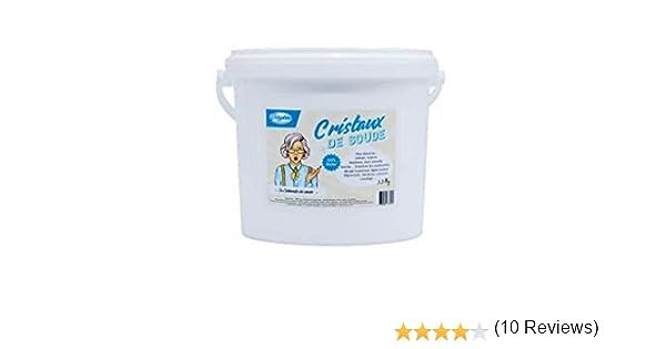 Cristales de soda – Carbonato de sodio en polvo – Cubo de 4 kg – ecológico y multifunción.: Amazon.es: Hogar