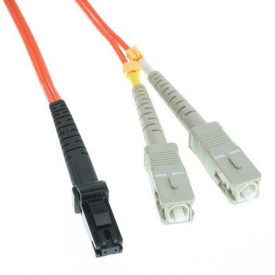 MT - RJ / SCマルチモードデュプレックス光ファイバーケーブル、62.5 / 125、10メートル10パックby NETCNA B071XDT884