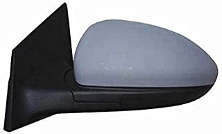 Left Rearview Mirror Thermal Electric 5 Pin with Primer from 2009
