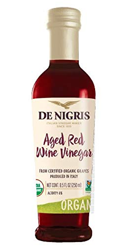 Organic Aged Red Wine Vinegar 6% Acidity