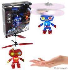 Marvel RCおもちゃ、RC Flying Hoveringスペースロボット、RC赤外線誘導ヘリコプターロボットKids、TeenagersカラフルFlyings for Kid 's Toy