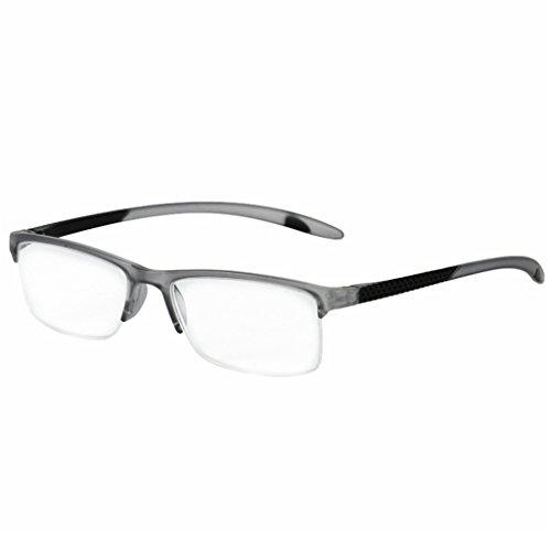Lergo Portable Unisex Readers Reading Glasses Eyeglasses Full Frame