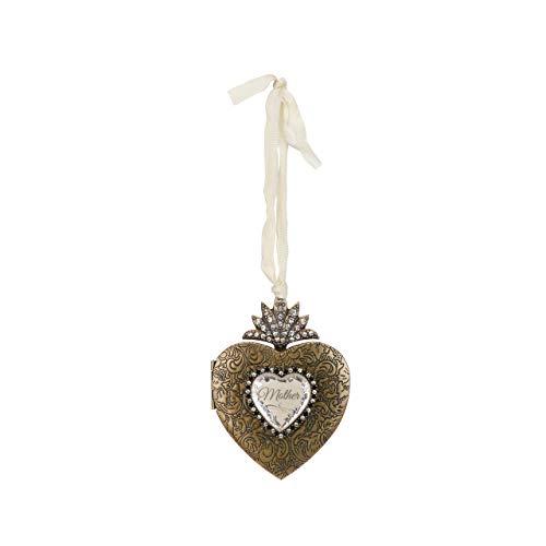 DEMDACO Seasons Mother Heart Locket Ornament