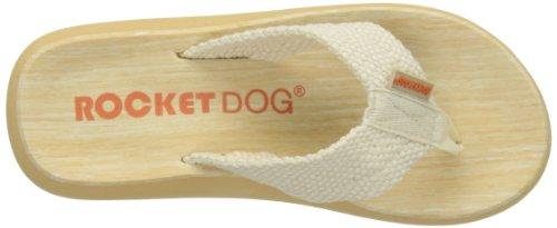 ROCKET DOG Sunset - sandalias de dedo de sintético mujer Beige - crema