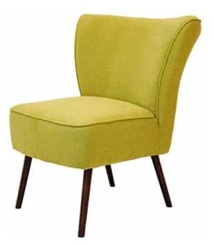 Casa-Padrino sillón de salón Retro de Lujo Amarillo Verde ...