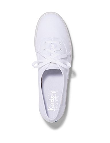 Triple Silver in Size UK Women's White Shimmer 5 Keds M Sneakers Aqp1561w
