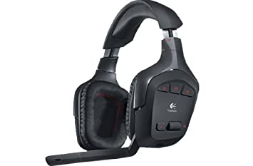 Logitech G930 Wireless Gaming Headset for PC - Black: Amazon