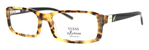 guess-ophthalmic-modified-rectangle-plastic-frame-gu-117-demi-amber