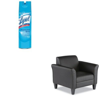 KITALERL23LS10BRAC04675EA - Value Kit - Best Reception Lounge Series Club Chair (ALERL23LS10B) and Professional LYSOL Brand Disinfectant Spray (RAC04675EA)