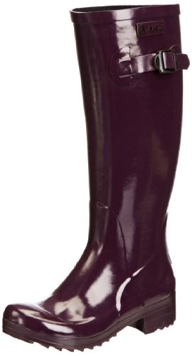 Purple Aigle Women's Wellington Boots Aubergine Brillantine wwC4qfx6ZI