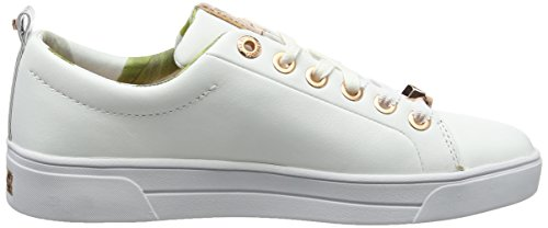 White Womens Baker Ted Sneakers White Kellei dXzXWq5w