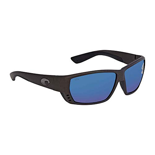 Costa Del Mar Costa Del Mar TA188OBMGLP Tuna Alley Blue Mirror 580G Steel Gray Metallic Frame Tuna Alley, Steel Gray Metallic Frame, Blue Mirror ()