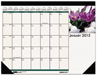 product image for House of Doolittle 2020 Monthly Desk Pad Calendar, Earthscapes Flowers, 18.5 x 13 Inches, January - December (HOD1596-20)