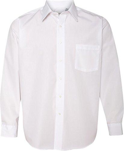 V0214 Mens Long Sleeve Cotton Rich Broadcloth