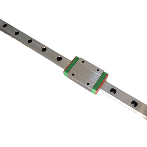 CNC part MR12 12mm linear rail guide MGN12 length 200mm with mini MGN12H linear block carriage miniature linear motion guide way