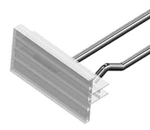 (American # 452525, Snap Lock Label Holders for Scanner Hooks, Slatwall Hooks (200 per case))