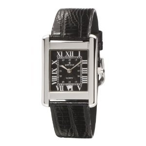 Mens Toledo Dress Watch - Sartego Men's SED121B Toledo Leather Strap