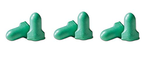 Howard Leight LPF-1 Max Lite Disposable Foam Uncorded Earplugs, Polyurethane Foam, Small, Green (Pack of 200) (3) by Howard Leight