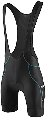 BALEAF Men's Cycling Bib Shorts 4D Padded Bike Bicycle Shorts Pockets Breathable Excellent Performance Fit