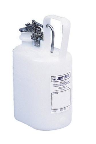 SEPTLS40012161 - Justrite Self-Close Corrosive Containers for Laboratories - (Self Close Corrosive Containers)