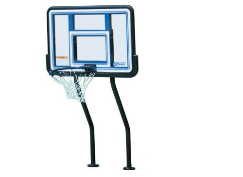 S.R. Smith S-BASK-44 Swim N Dunk Complete Salt Friendly Basketball Game with in-Deck Anchors,4-Box